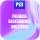 Cards & Backgrounds Kit