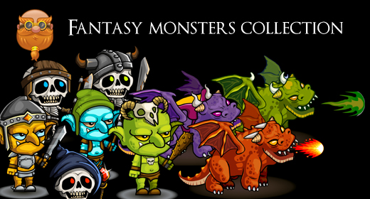 Fantasy Monsters Collection