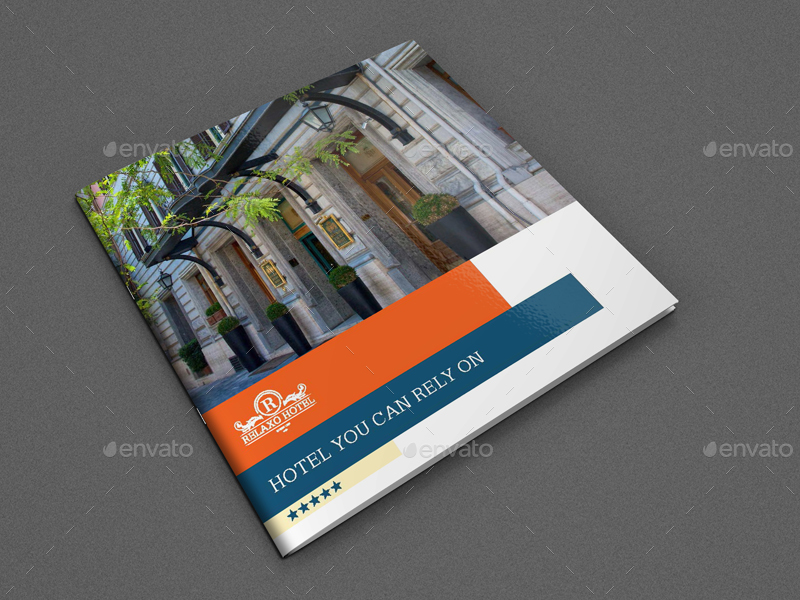 Hotel and Motel Brochure Template Vol2 12 Pages by OWPictures – Hotel Brochure Template