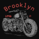 Brooklyn motorcycle design