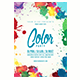The Color Party Flyer Template