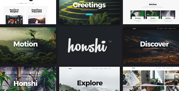 Download Honshi - Creative Multi Purpose WordPress Theme
