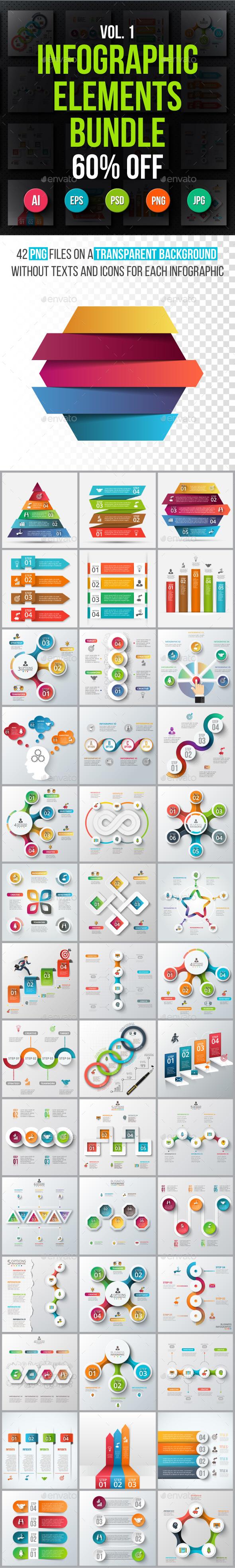 Infographic elements bundle v.01