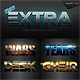 New Extra Light Text Effects Bundle Two