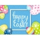 Happy Easter Spring Holiday Background