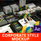 Presentation of Corporate Style - Mockup