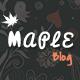 Maple - Responsive WordPress Blog Theme