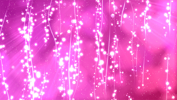 VideoHive Pink Abstract Lines&Particles BG 19584770