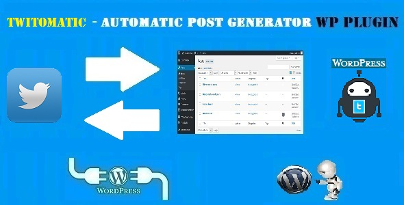 How to post from Twitter to WordPress (or the other way around)?