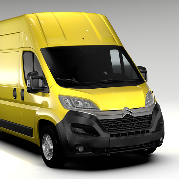 Citroen Jumper Van L3H3 2017 - 3DOcean Item for Sale