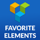 Favorite Elements for Visual Composer - Best Productivity Add-on