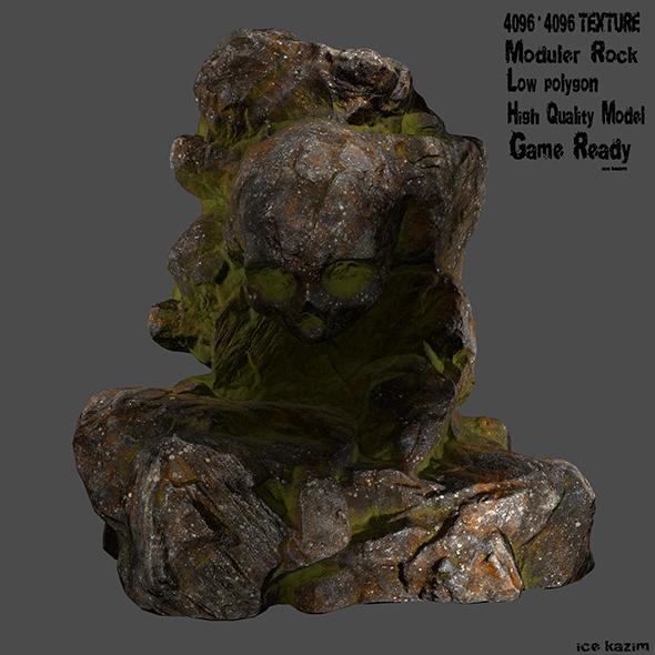skull rock - 3DOcean Item for Sale