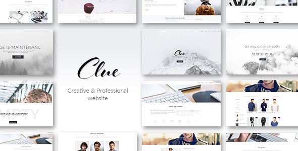 Clue - Creative Multiuse HTML Template