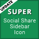 Super - Social Share Sidebar