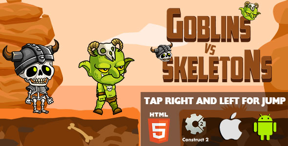 Goblins VS Skeletons - HTML5 Game (CAPX)