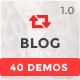 Themenum - Blog HTML Template with 40+ Demos