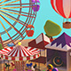 Low Poly Carnival Fair