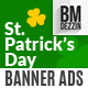 St Patricks Day Banner Ads