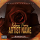 Roses PSD CD Mixtape Cover Template