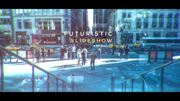 VideoHive Futuristic Slideshow 19591528