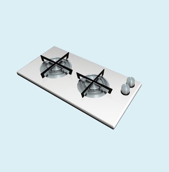 gas hob - 3DOcean Item for Sale