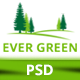EverGreen PSD Template
