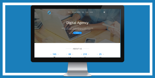Digital Agency Landing Template