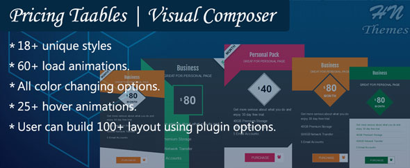 Visual Composer | Pricing Tables By HN Themes (Add-ons) Download