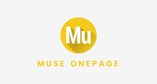 Adobe Muse One Page