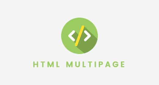 HTML Multi Page