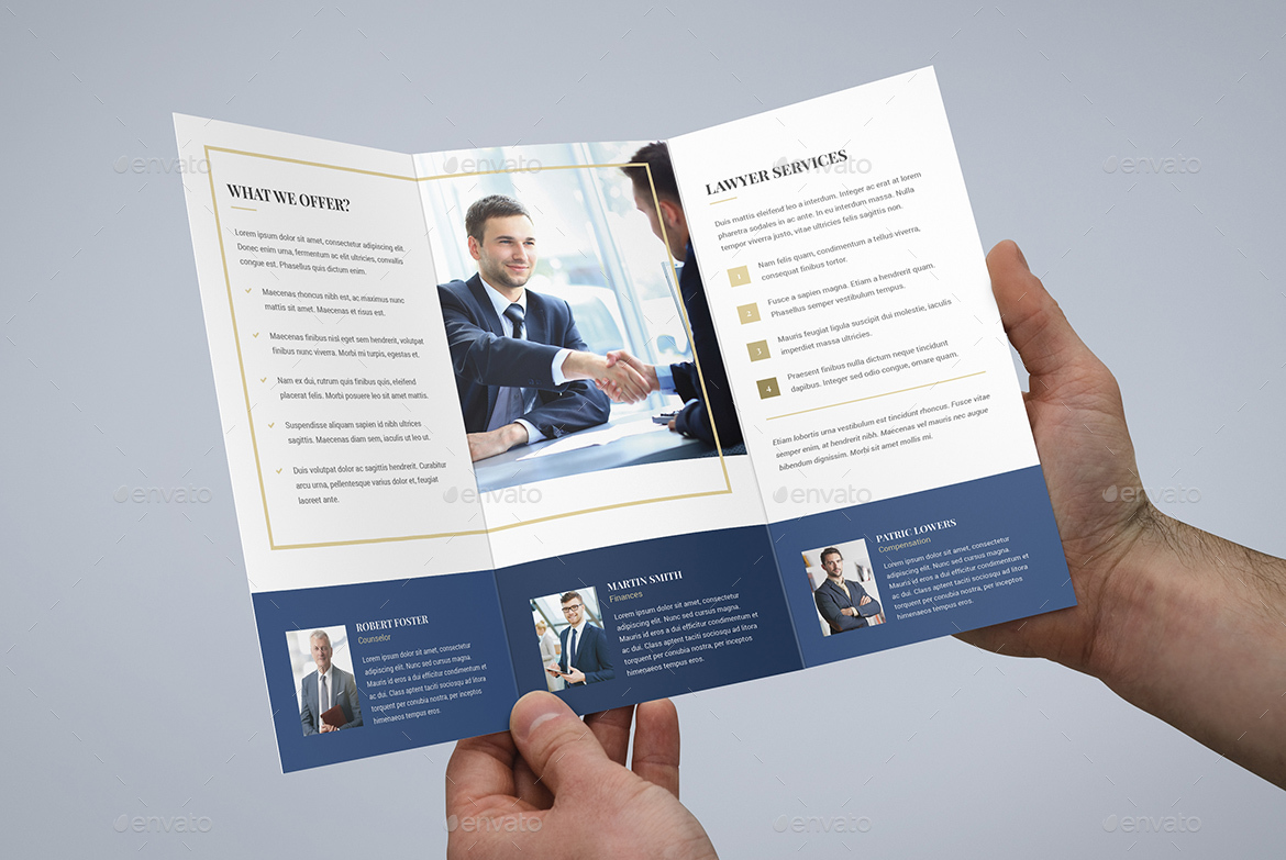 Brochure Law Firm TriFold by artbart – Law Firm Brochure