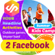 Summer Kids Camp Facebook Cover