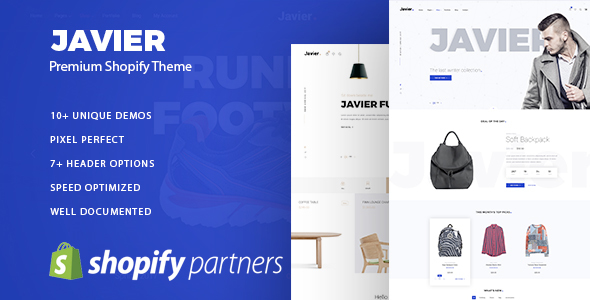 Javier - Premium Shopify Theme