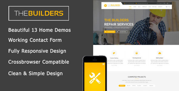 The Builders - Construction HTML Template