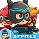 Super Boys Game Sprites