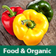 Food - Organic Store Ecommerce HTML Template