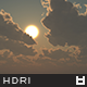 High Resolution Sky HDRi Map 016
