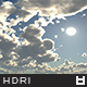 High Resolution Sky HDRi Map 017