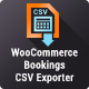 WooCommerce Bookings CSV Exporter