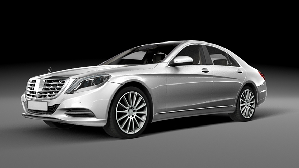 Mercedes Benz S500 - 3DOcean Item for Sale