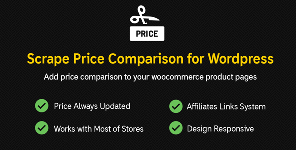Scrape Price Comparison – Affiliates WooCommerce & WordPress Plugin