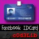 Facebook ID Card Generator