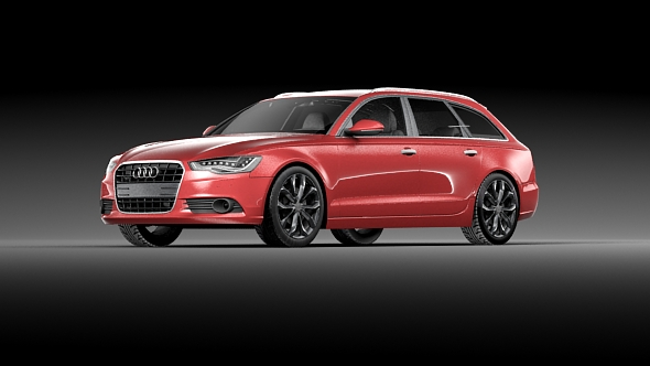 Audi A6 Avant 2016 - 3DOcean Item for Sale