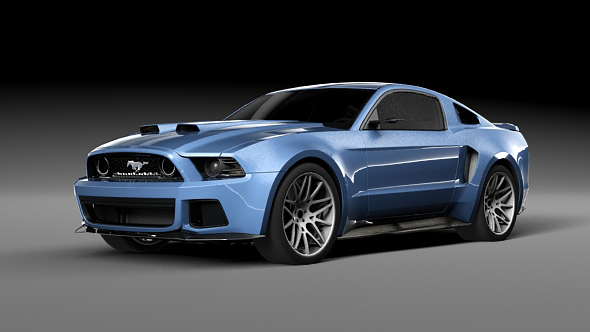 Ford Mustang Shelby GT500 - 3DOcean Item for Sale