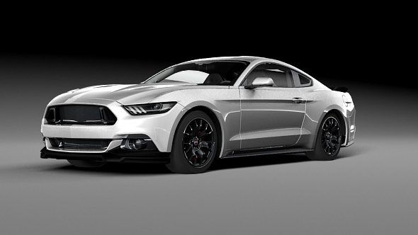 Ford Mustang GT 2016 - 3DOcean Item for Sale