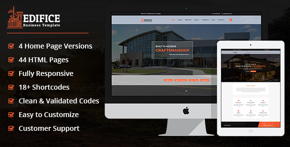 Edifice- Multipurpose Business Template