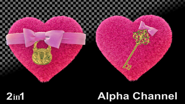 VideoHive Hearts Valentines 2-Pack 19598270