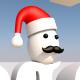 Christmas-Santa Cap-Mustache