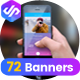 Mobile Apps Banner Pack-Graphicriver中文最全的素材分享平台