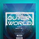 Outer World Party Flyer Template